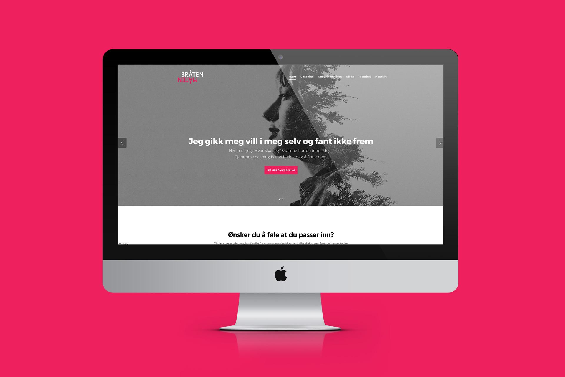 Bråtenmåten, webside i WordPress