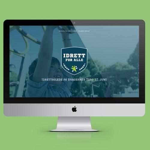 Nettside Idrettforalle.org