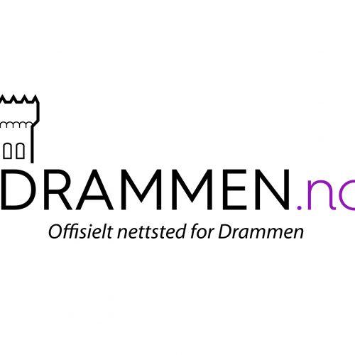 Design av logo for Drammen.no