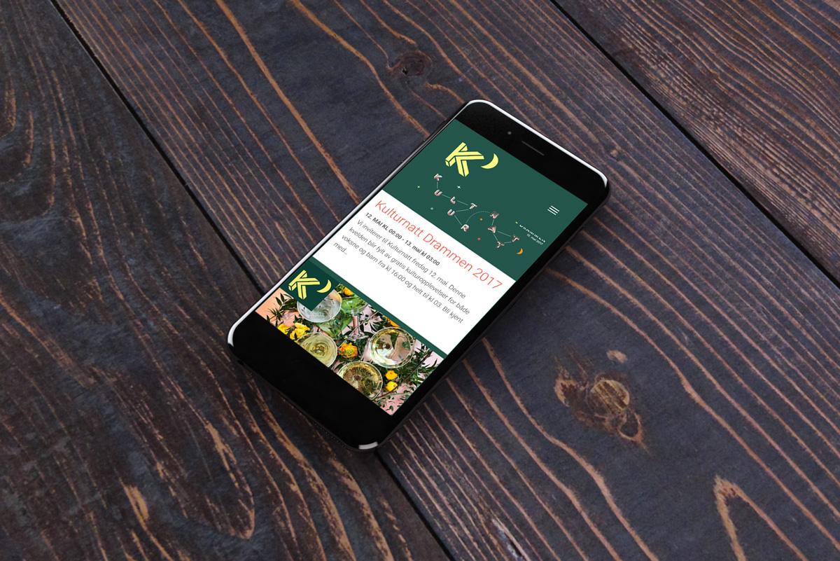 Kulturnatt med alltid oppdatert program på mobilen
