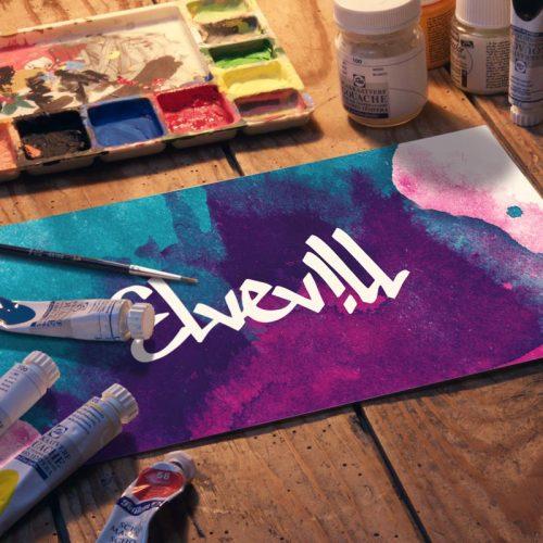 Elvevill, grafisk profil