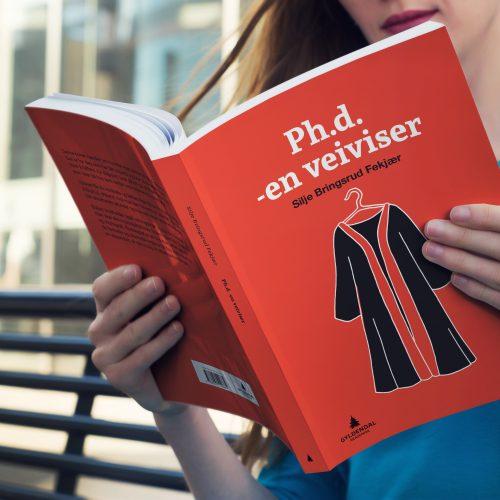 Design av bokomslag Ph.D -en veiviser