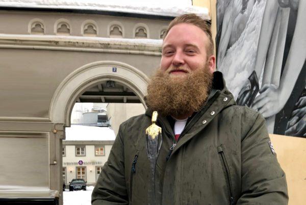 Eric Ness Christiansen, vinner Bylivsprisen i Drammen 2017