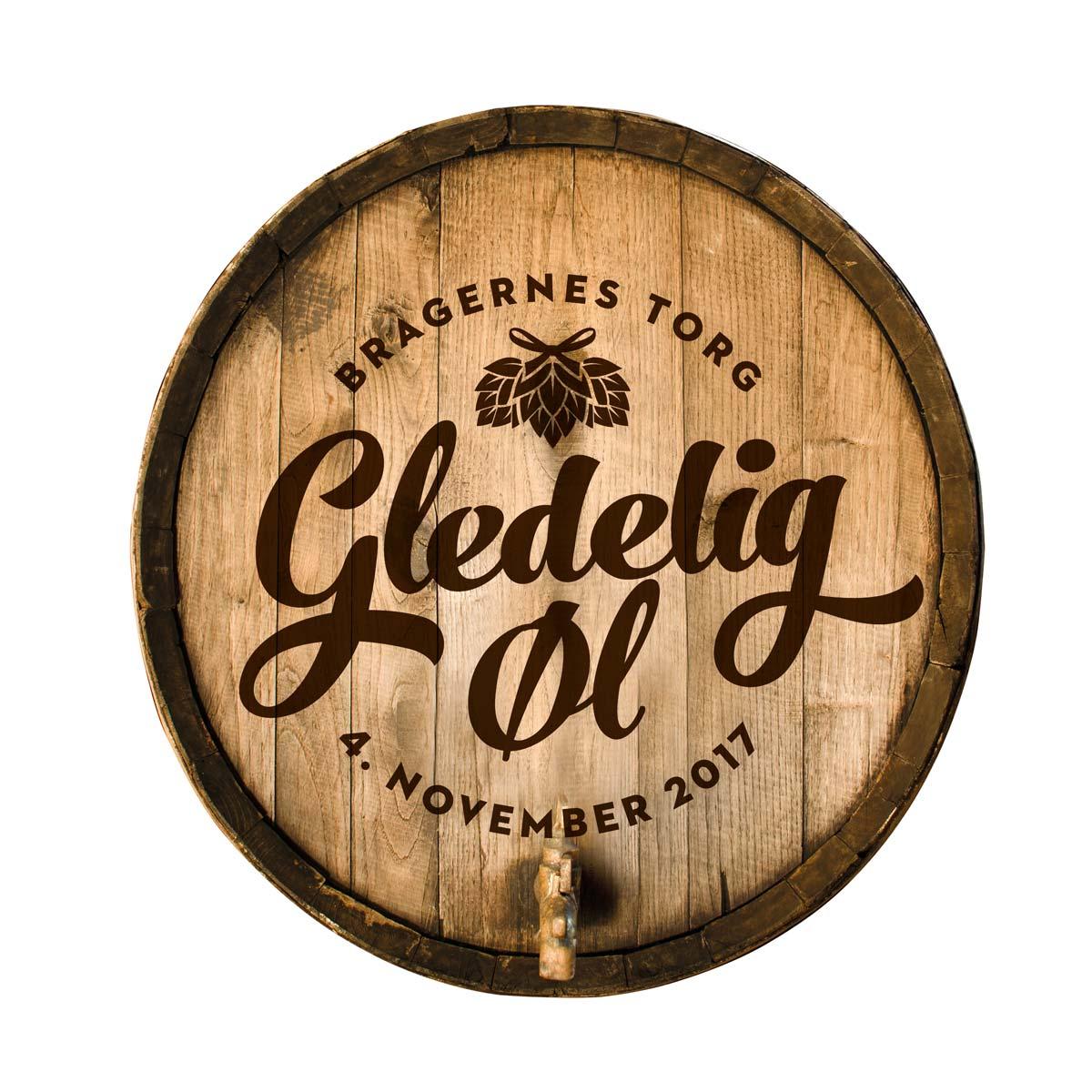Gledelig øl logo