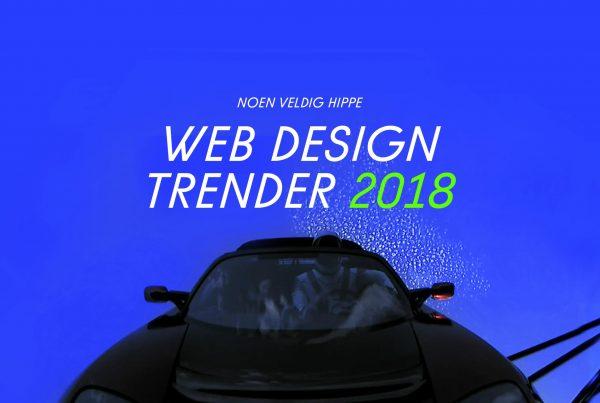 webdesign trender 2018