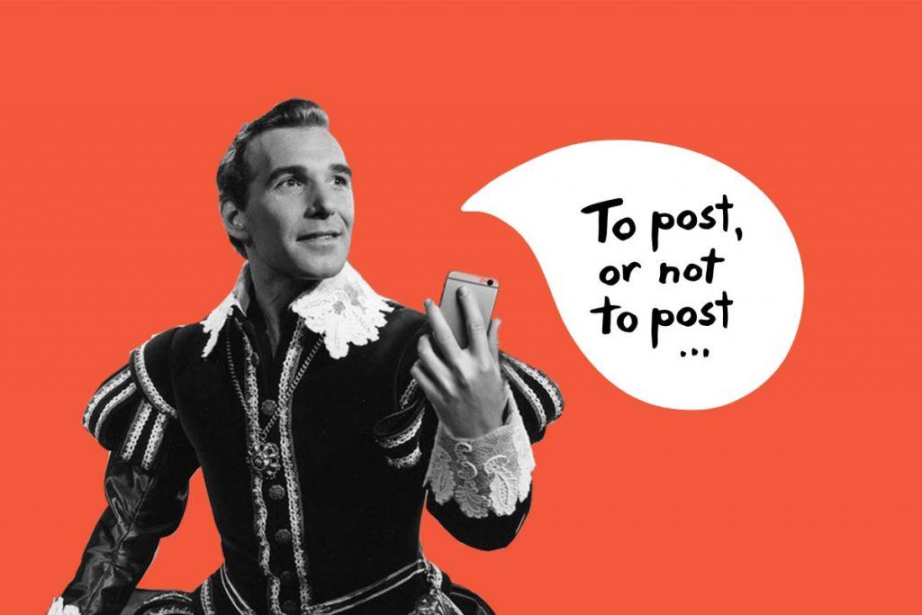 Å gjøre eller ikke gjøre på Facebook