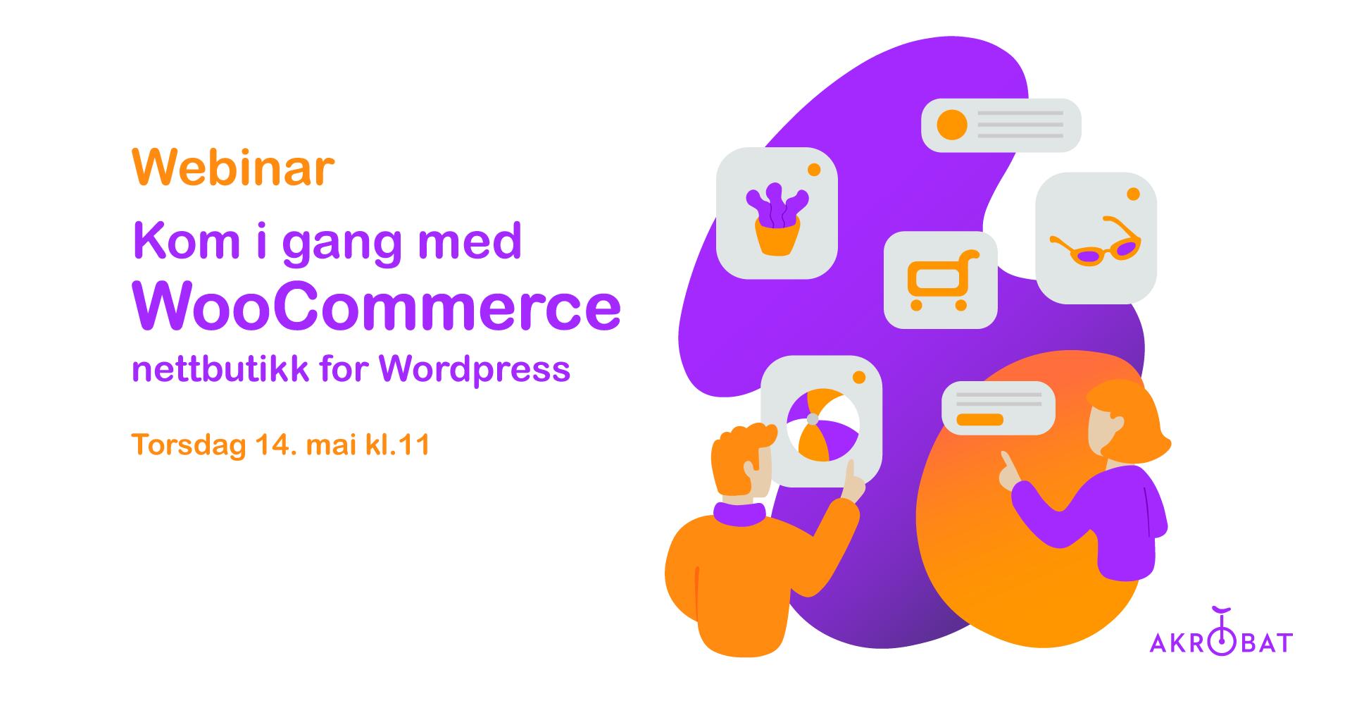 WooCommerce nettbutikk