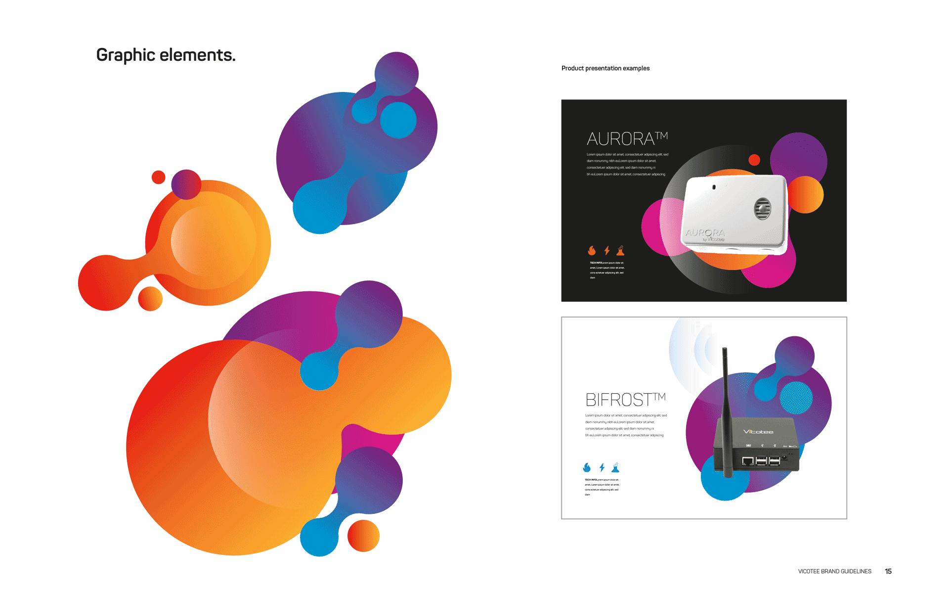 Ny nettside og visuell profil for IoT-selskap