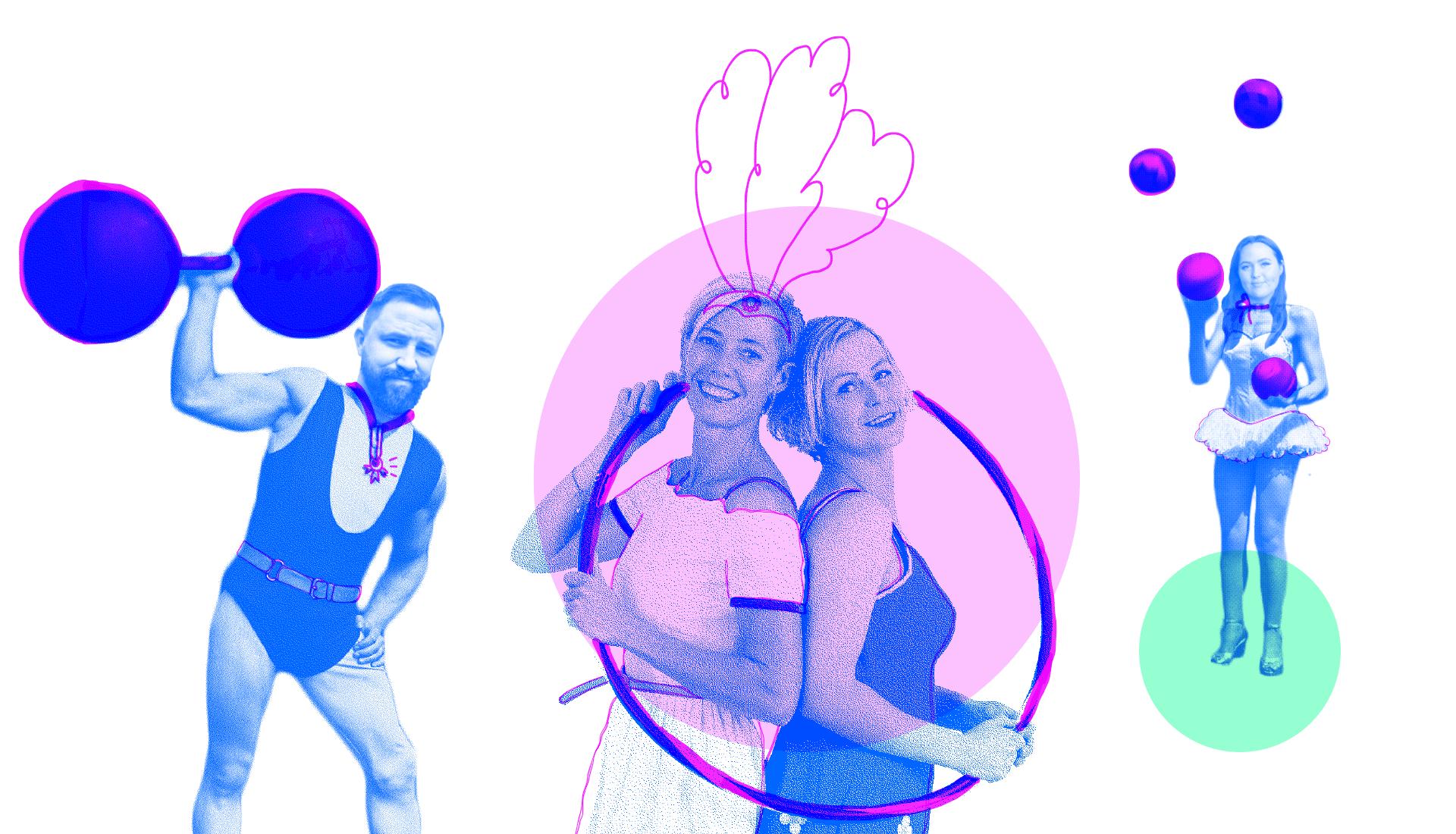 Om Akrobat: Grafisk designer og webutvikler med lang erfaring