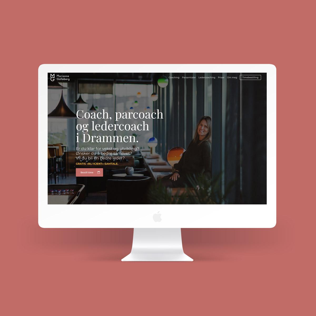 Nettside og profil