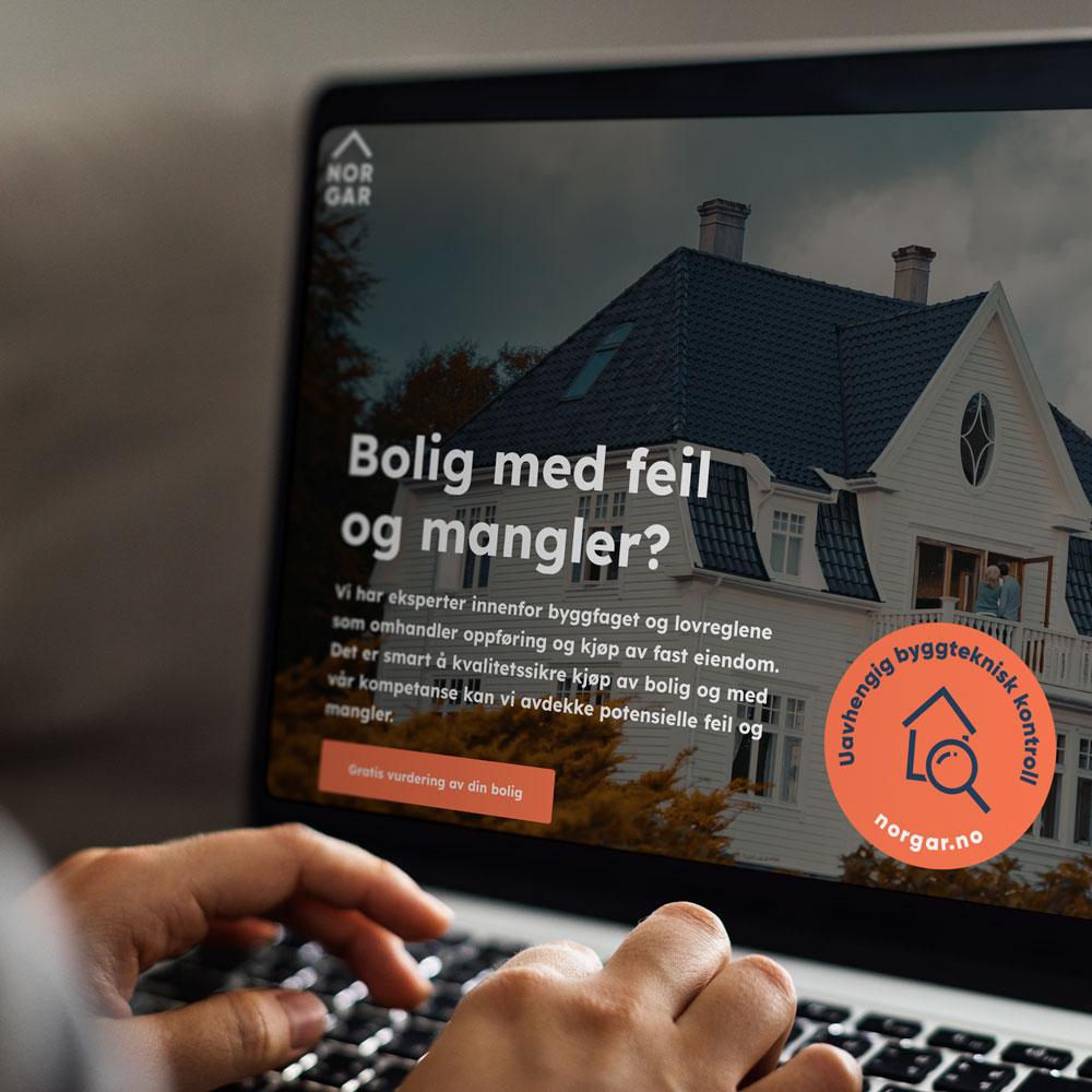 NORGAR – boligtakst og reklamasjon